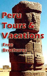 Get Free Brochures of lots of Peruvian Vacations!